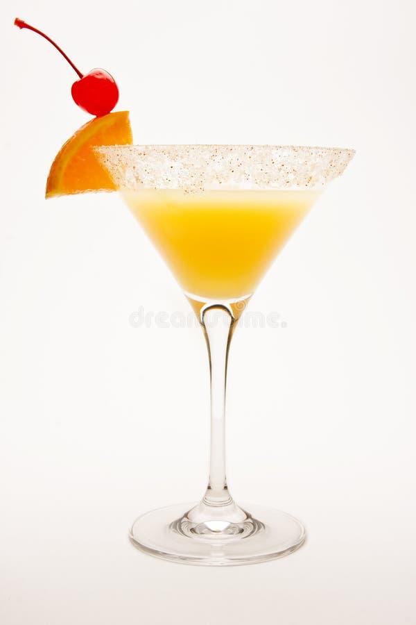 Wüsten-Sandtequila-Sonnenaufgang-Cocktail lizenzfreie stockbilder