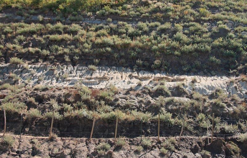 Wüsten-Schichten stockfotografie