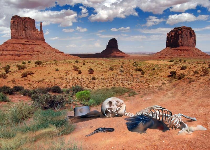 Wüstengeheimnisse lizenzfreie abbildung