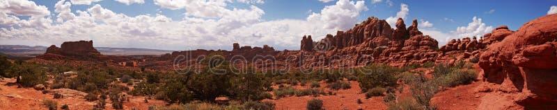 Wüstenpanorama stockfoto
