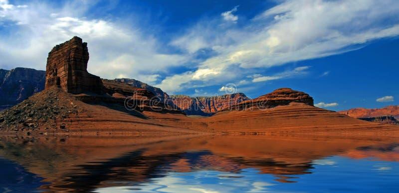 Wüstenwasser vektor abbildung