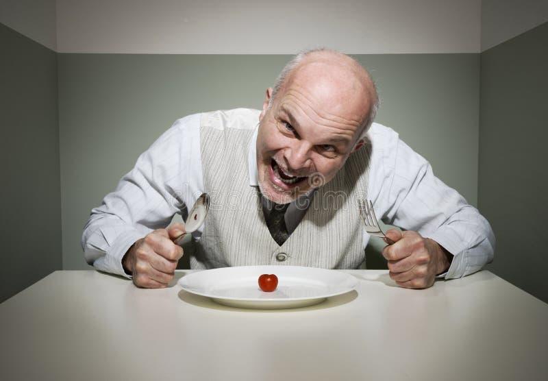 Wütendes hungriges lizenzfreies stockfoto