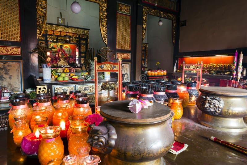 Wąż Świątynny Penang Malezja fotografia royalty free