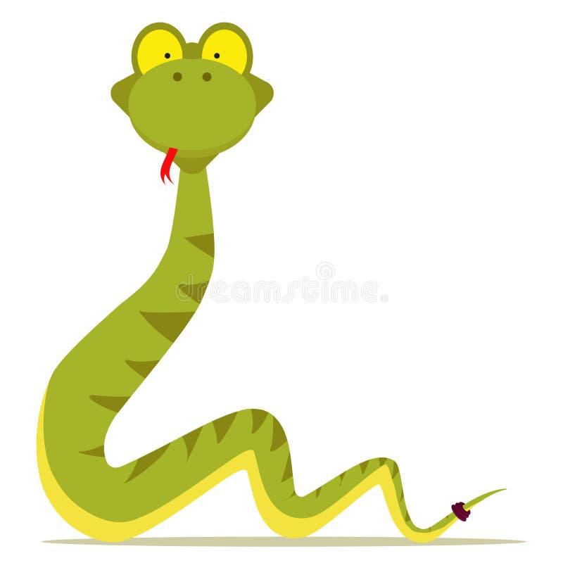 wąż royalty ilustracja