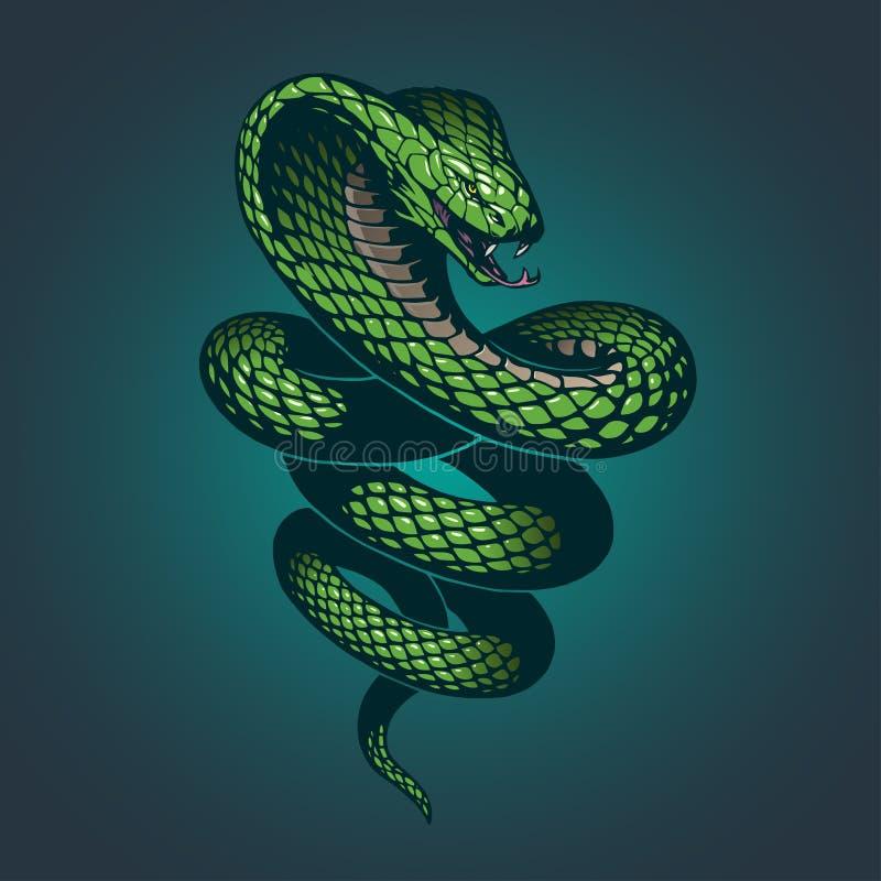 Wąż ilustracja ilustracji