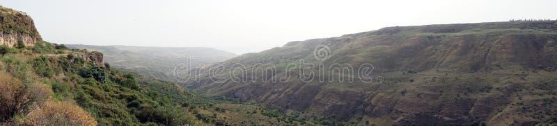Wąwóz w Galilee obraz stock
