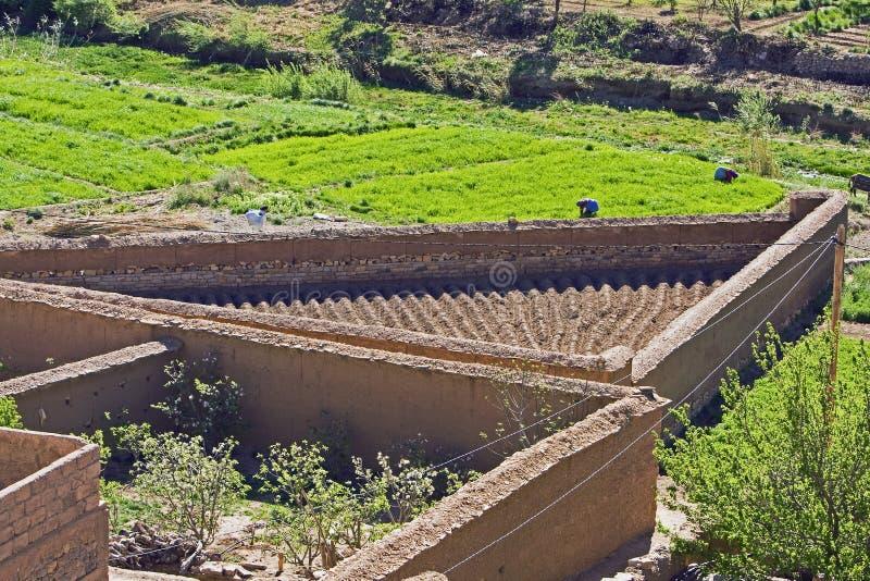 wąwozy Morocco fotografia royalty free