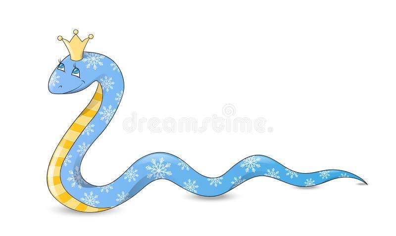 Węża princess ilustracji