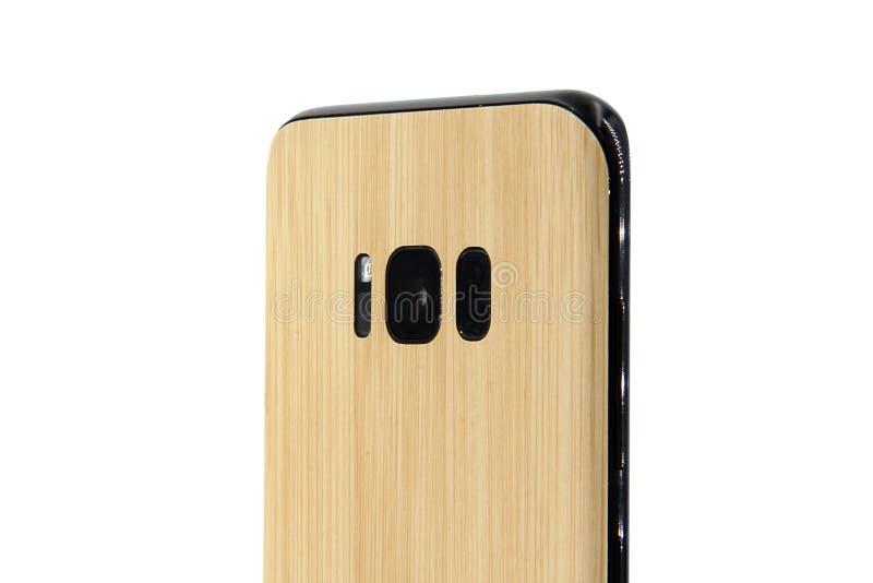 Wędkujący telefon komórkowy obrazy stock