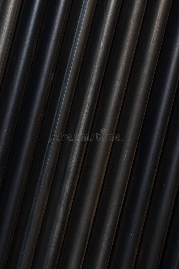 Węgiel stalowa drymba 2 fotografia stock