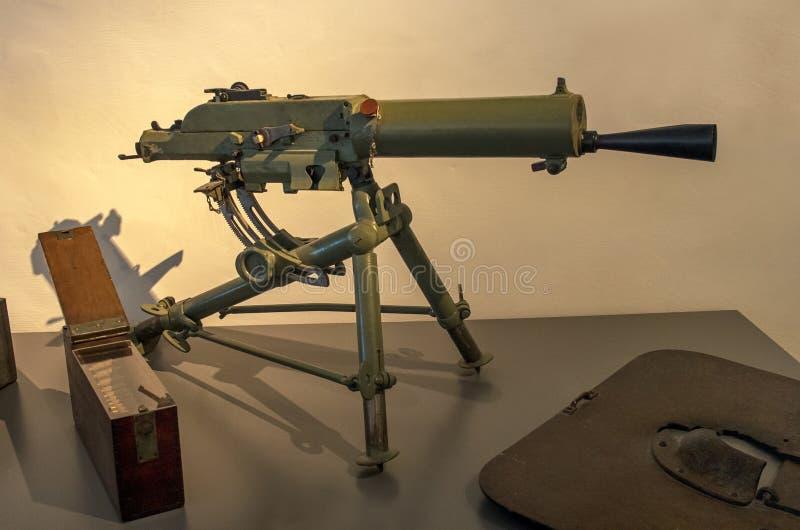 węgier Schwarzlose 8mm MG M 07/12 Maszynowych pistoletów zdjęcie royalty free