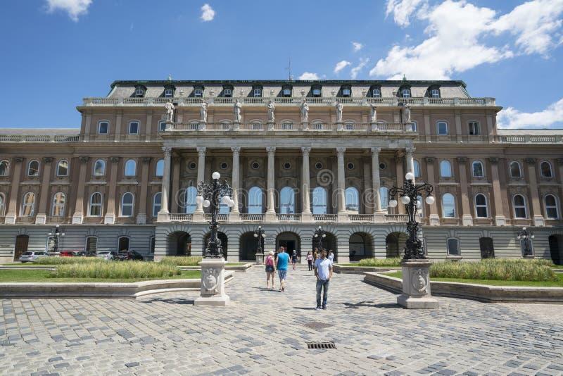 Węgierska krajowa galeria w Budapest zdjęcie stock