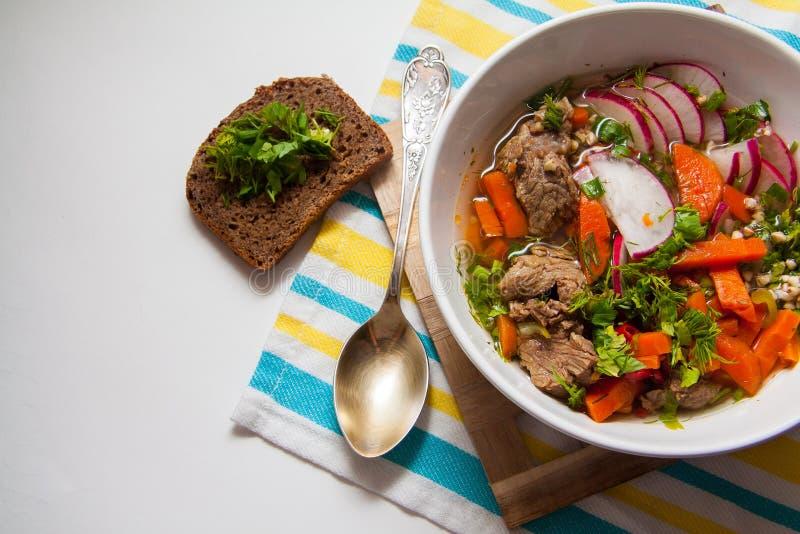 Węgierski goulash obraz stock