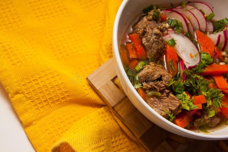 Węgierski goulash fotografia stock