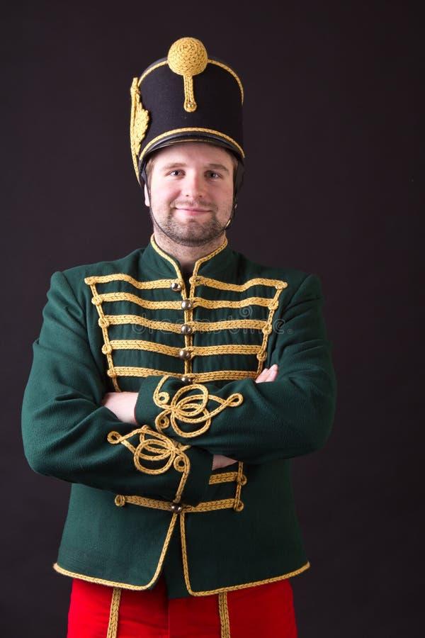 Węgierski hussar zdjęcia stock