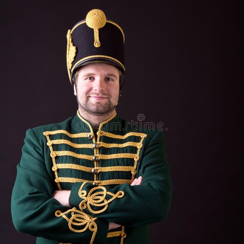 Węgierski hussar obrazy royalty free