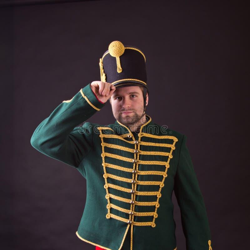 Węgierski hussar zdjęcie royalty free