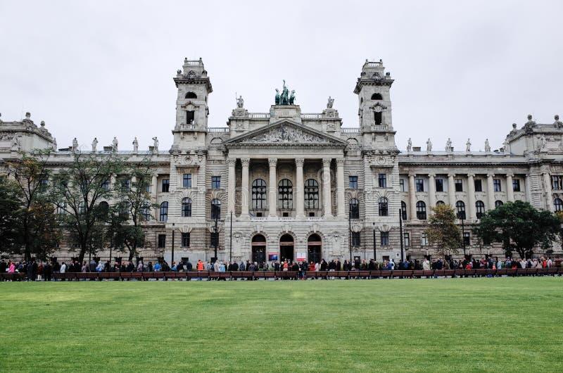 Węgierski parlamentu budynku parlament Budapest, Budapest, WĘGRY obrazy stock