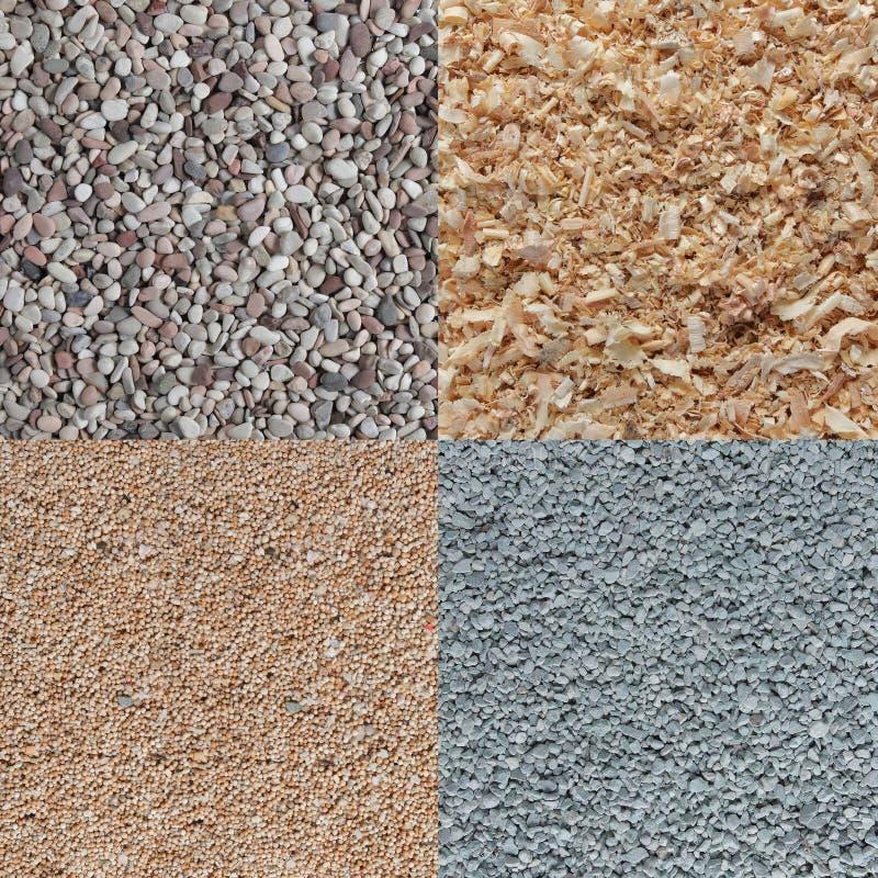 węgla zielony sosny skały piaska tekstury drewno obraz royalty free