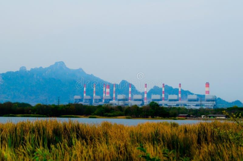 Węglowa elektrownia obrazy royalty free