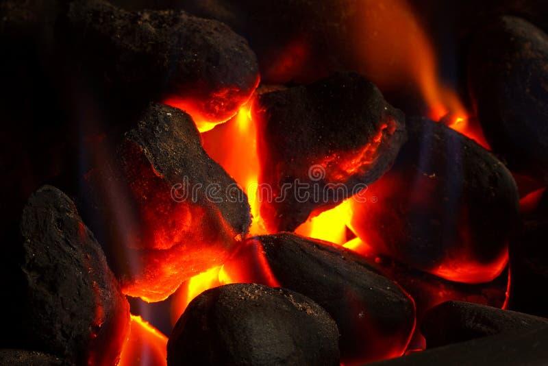 węglowa pożarnicza imitacja zdjęcia stock