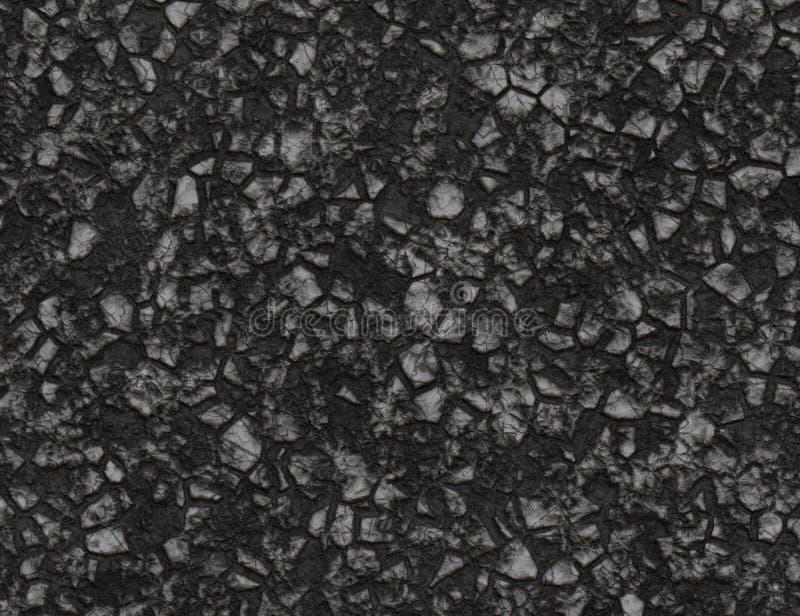 Węglowa stała tekstura górniczy rudni tła zdjęcie stock