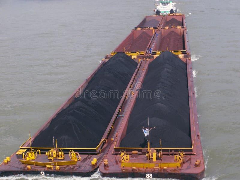 węglowy riverboat zdjęcie stock