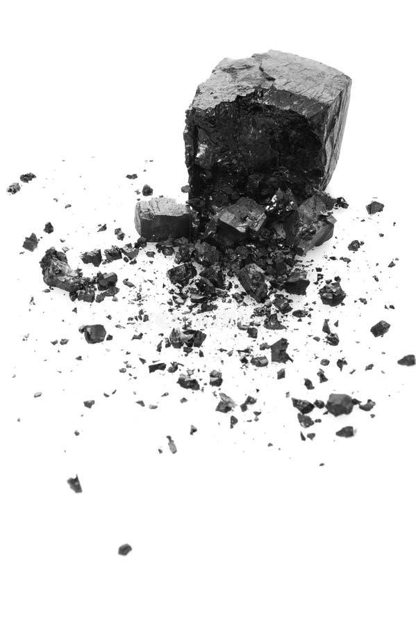 węglowy rozsypisko obraz stock