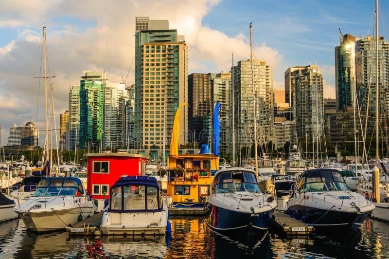 Węglowy schronienie Vancouver obraz royalty free