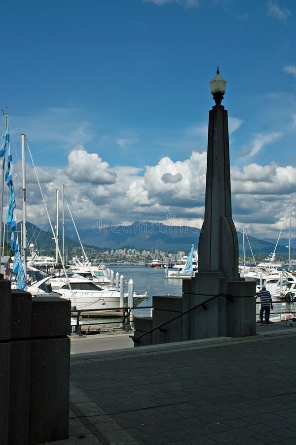 Węglowy schronienie, Vancouver BC Kanada zdjęcia royalty free