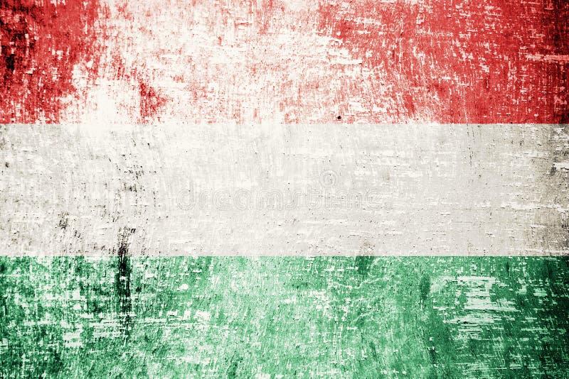 Węgry flaga fotografia royalty free