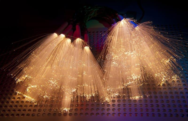Włókno okulistyczna sieć depeszuje łata panel zdjęcie royalty free