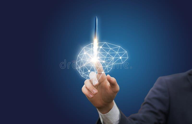 Włączenie brainstorming w biznesie zdjęcie royalty free