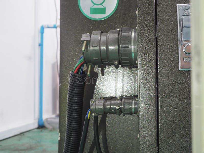 Włącznika systemu kontroler maszyna zdjęcie royalty free