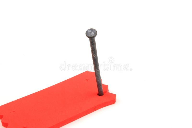 właściciel narzędzia do paznokci zdjęcia stock