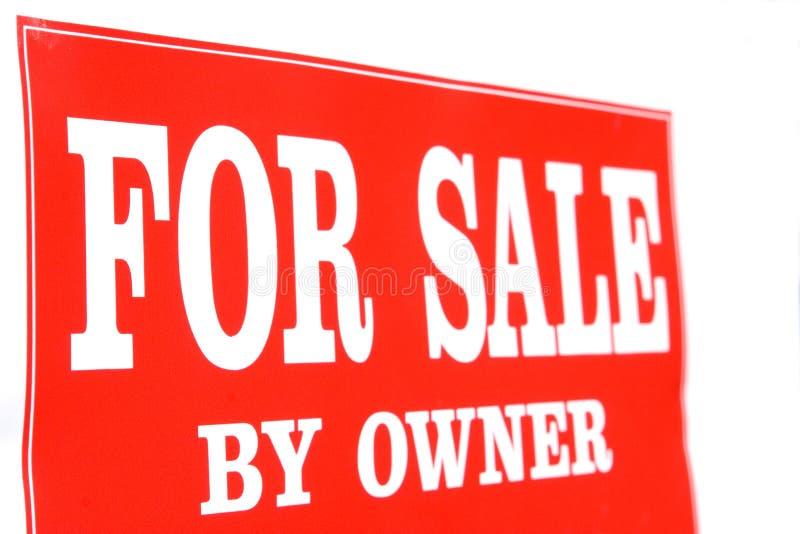 właściciel sprzedaży fotografia stock