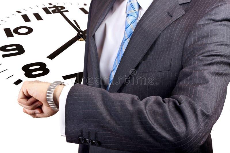 właśnie czas obraz stock