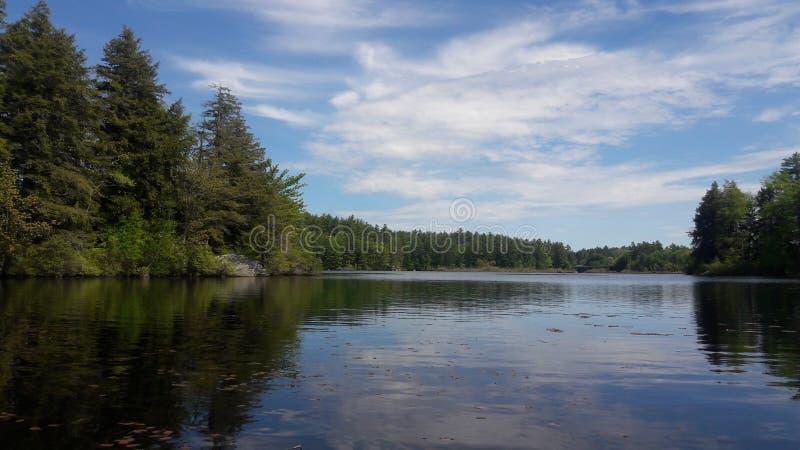 Właśnie inny dzień na jeziorze fotografia royalty free
