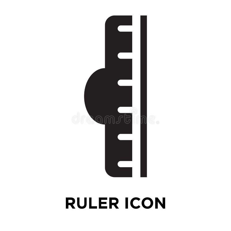 Władcy ikony wektor odizolowywający na białym tle, loga pojęcie ilustracji