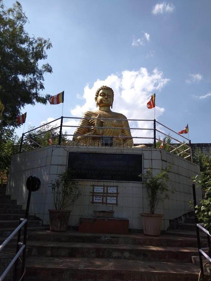 Władyka Buddha, Maitre Vihar, Bhopal, India zdjęcie royalty free