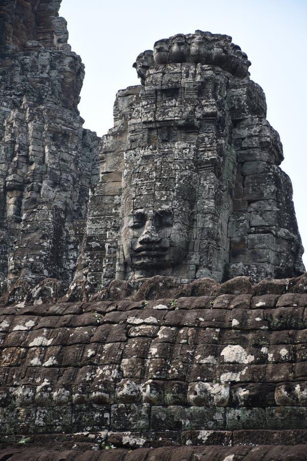 Władyka Buddha osoba która ogląda od Above fotografia stock