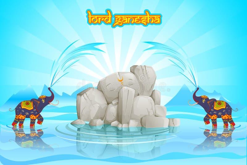 Władyka Ganesha ilustracji