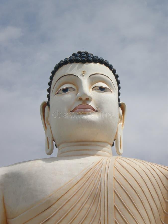 Władyki Buddha statua W Sri Lanka zdjęcia stock