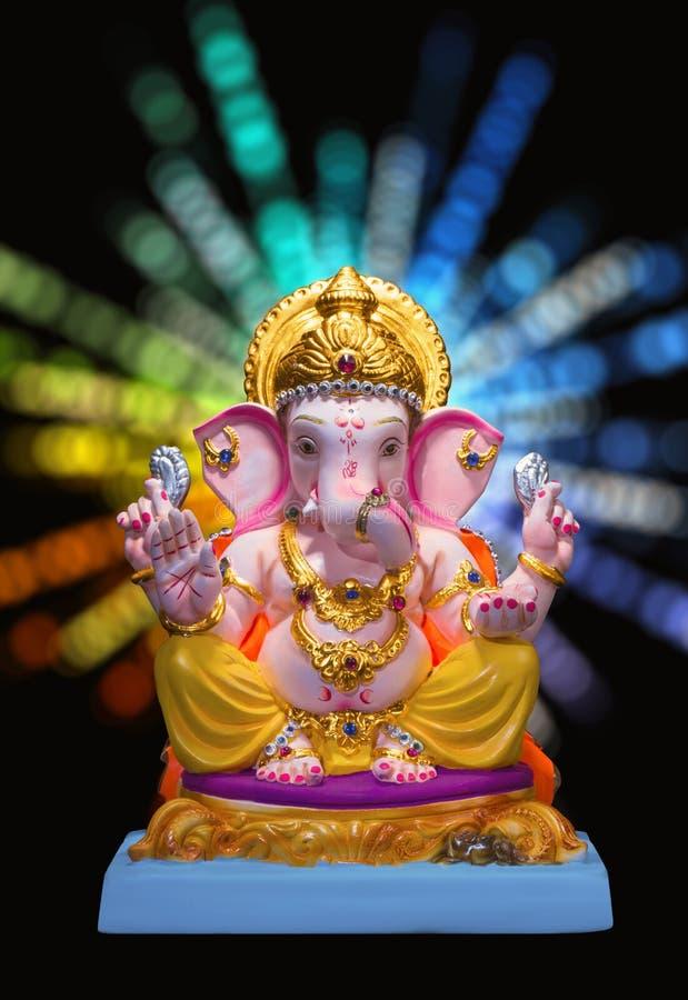 Władyki Ganesha idola ganesh festiwalu chaturthi zdjęcie stock