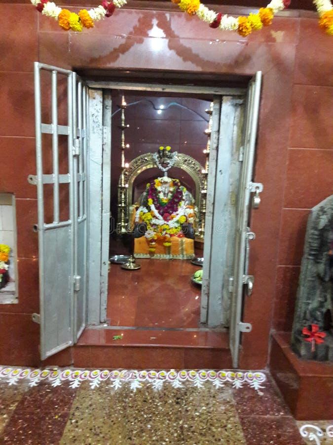 Władyki shree mahamaya maata idol w goa fotografia royalty free
