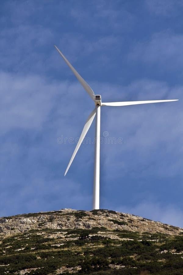 władza elektryczny generatorowy wiatr obrazy royalty free