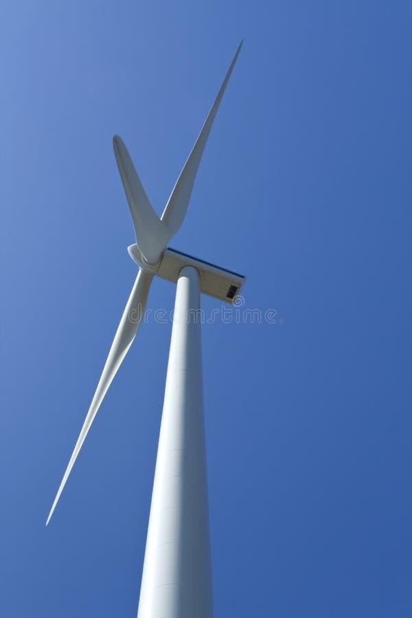 władza elektryczny generatorowy wiatr fotografia royalty free