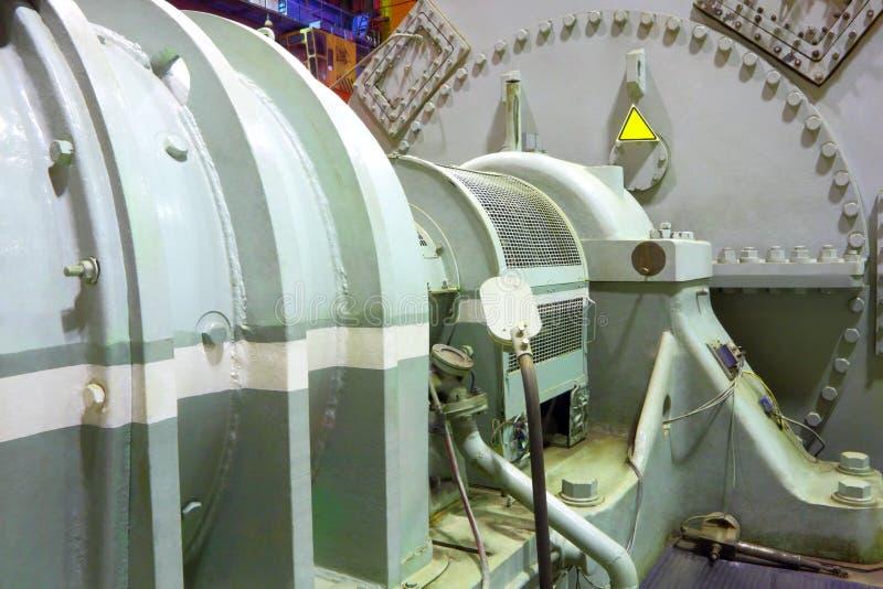 Władza generatoru parowa turbina zdjęcia royalty free
