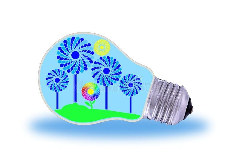 Władza i elektryczność royalty ilustracja