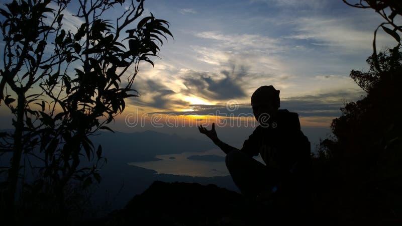 Władza jutrzenkowy cień zdjęcia stock
